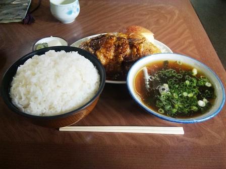 100120そば処三太【焼肉定食大盛り】1.jpg